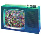 Picture of a TV used in Gamesley interactive CD-ROM