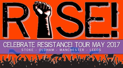RISE MAY TOUR: CELEBRATE RESISTANCE!