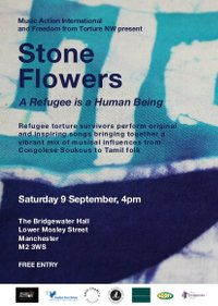 Stone Flowers at Bridgewater Hall this Saturday